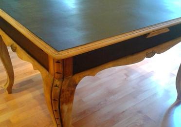 Mesa restaurada