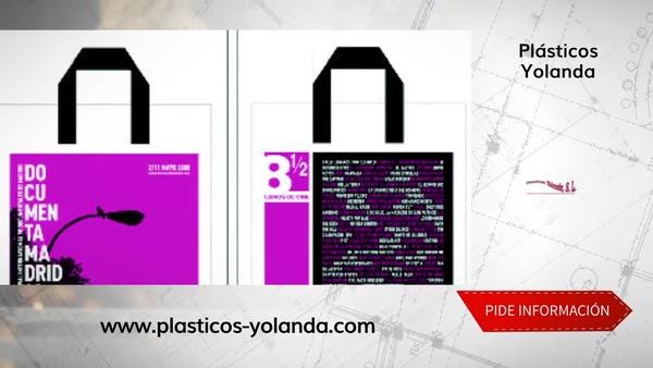 Bolsas de tela personalizadas en el centro de Madrid - Plásticos Yolanda
