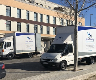 Guardamuebles: Servicios de Alba Moving Mudanzas y Guardamuebles