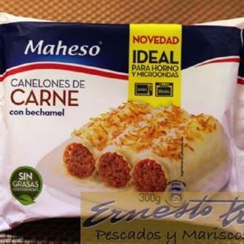 Canelones de carne: Productos de Ernesto Prieto