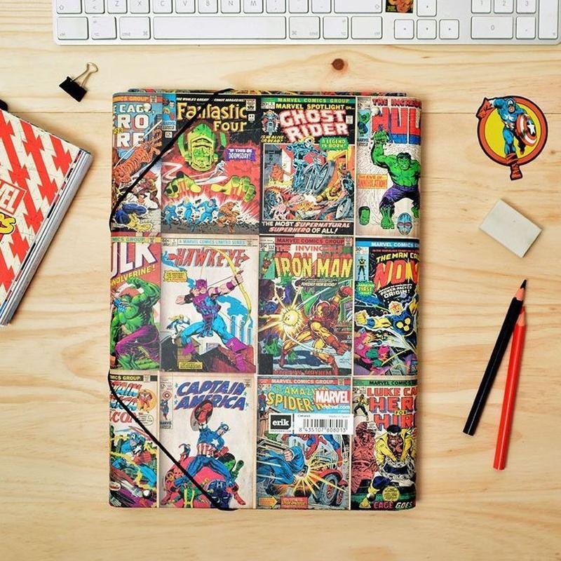Carpeta Gomas C. Premium Marvel Comics  8435107808013
