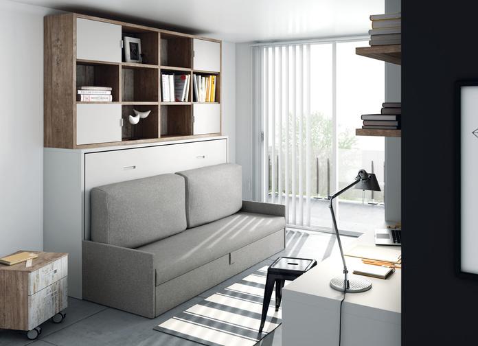 Cama abatible con sofa: Nuestros muebles de Muebles Aguado