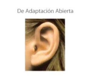 Audífono de adaptación abierta