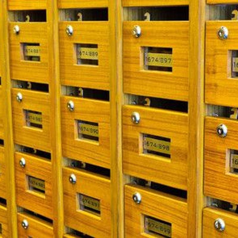 Instalación de buzones interiores y exteriores: Servicios de Serralleria, C.P.G.