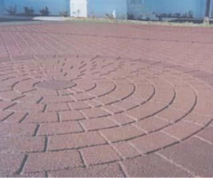 Pavimento impreso: servicios de Pavimentos Paterna, S.L.