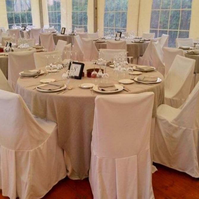 Organizar las mesas en tu boda