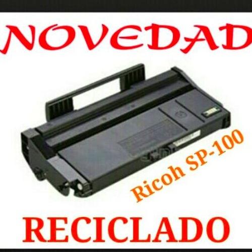 Novedad en reciclado, Ricoh SP-100 (2.600 pág)