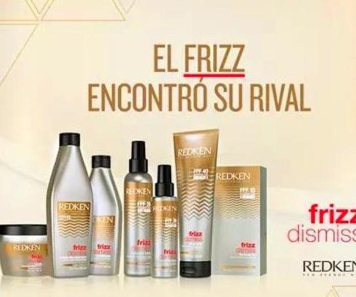 Tratamientos de peluquería de marcas prestigiosas como Redken en Gran Canaria