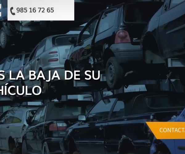 Desguaces en Gijón | Desguaces Sánchez
