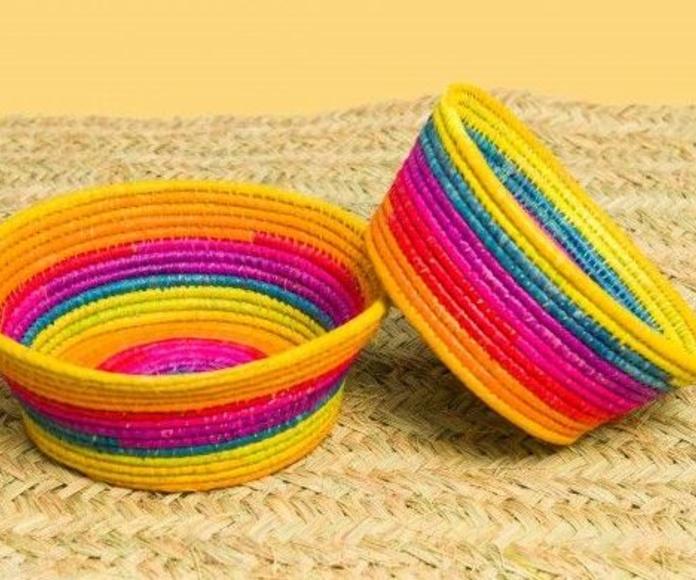 Recipientes, decoración y menaje: Productos  de Artesanía La Palma