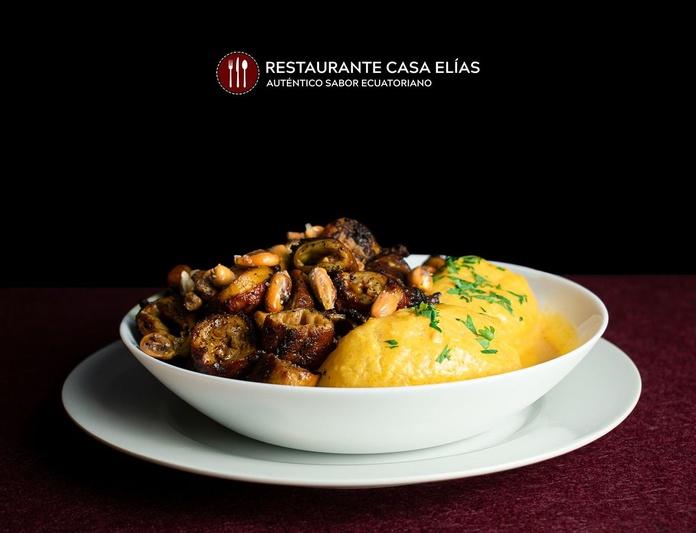 Tripitas al carbón: Carta de Restaurante Casa Elías