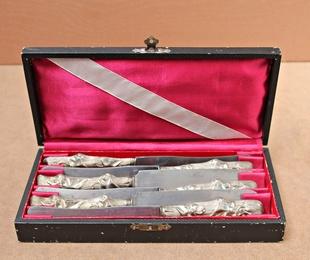 Cuchillos de postre Art-Decó