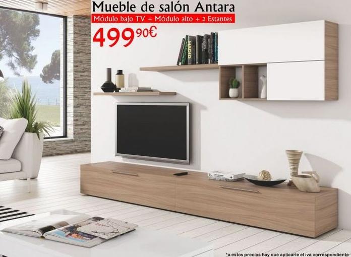 Oferta mueble de salón Antara