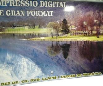 Reproducción de planos: Catálogo de Copisteria Tècnica El Punt