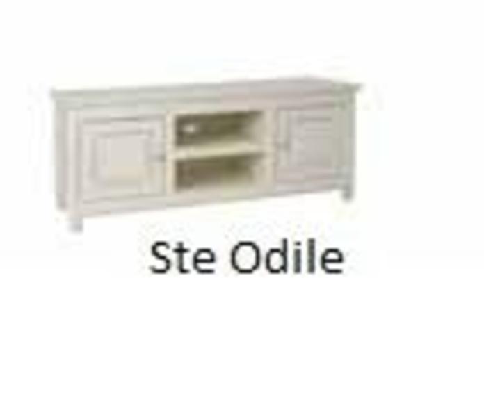 Mueble TV blanco envejecido: Catálogo de Ste Odile Decoración