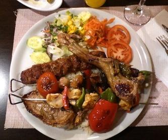 Comidas y cenas de empresa: Carta de Beytti