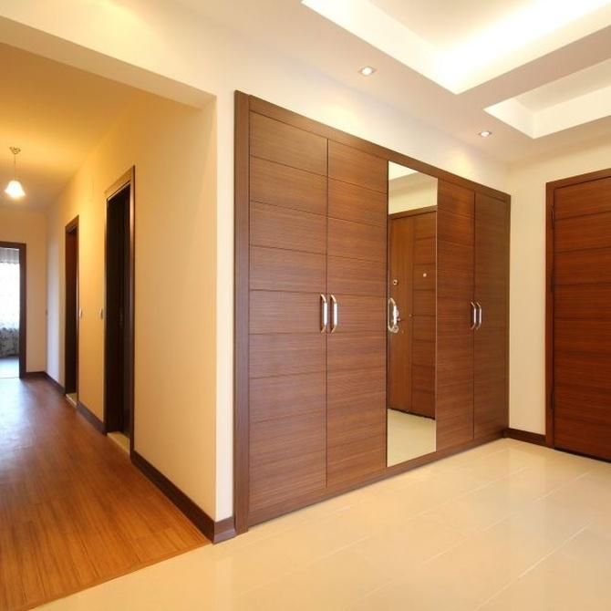 Los diferentes tipos de puertas para armarios