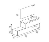 Mueble baño Kyrya Modular Complet C4