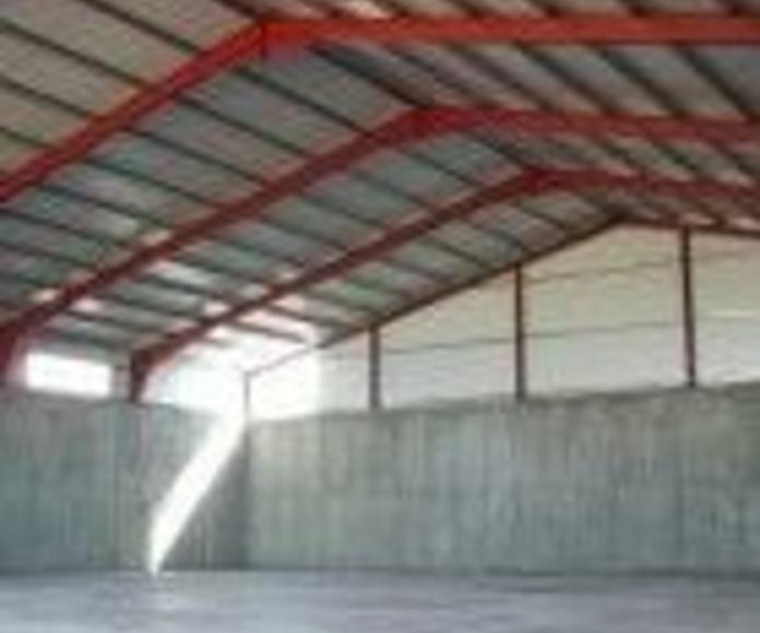 Estructuras para depósitos y silos