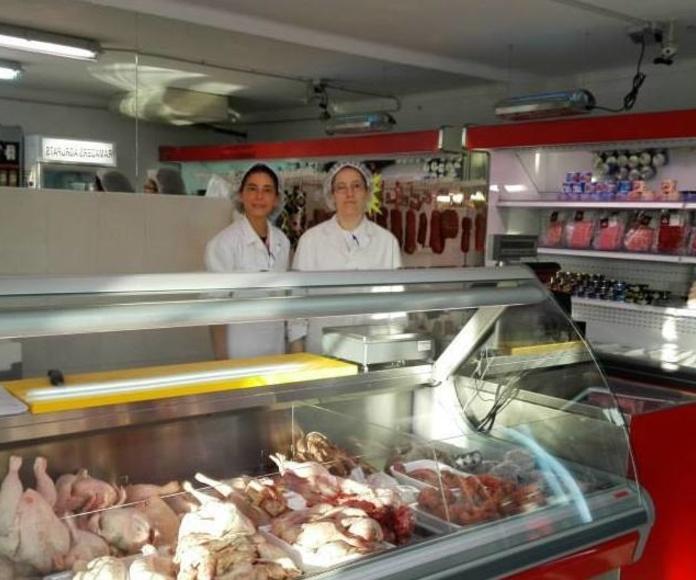 Carnicería en la fábrica Ramaders Agrupats