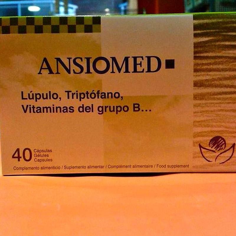 Ansiomed 40 cápsulas: Cursos y productos de Racó Esoteric Font de mi Salut