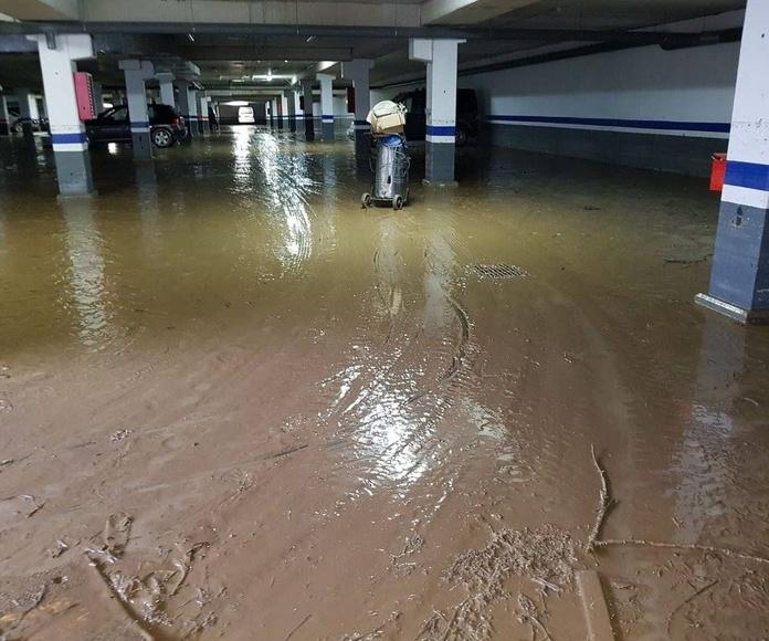 Limpieza por inundaciones: Servicios de Limpiezas Ojeda