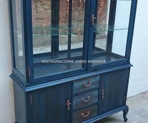 Restauración muebles vintage en Barcelona. Restauracions Jordi Nóbrega
