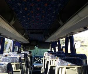 Interior de uno de nuestros autobuses de alquiler