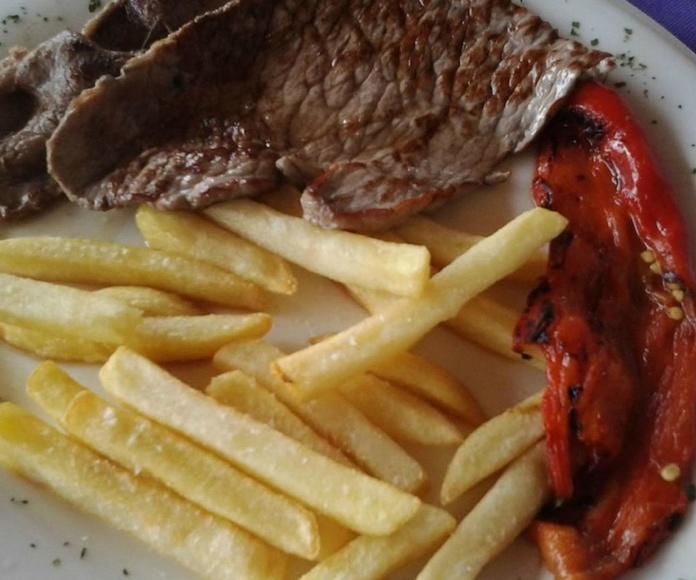 Carnes: Carta de Restaurante Veracruz