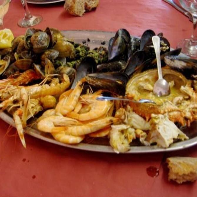 El marisco, un manjar muy saludable