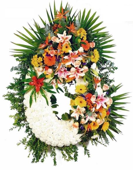 Corona  Modelo 11:  de Floristería Contreras