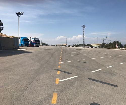 Parking para camiones en Paterna