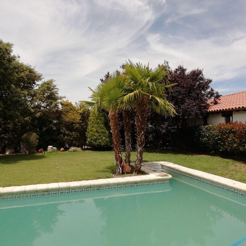 Piscina y zona exterior: Hotel 2 estrellas de Cortijo Macoterano