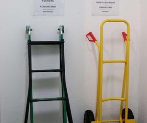 Herramientas para carga y descarga
