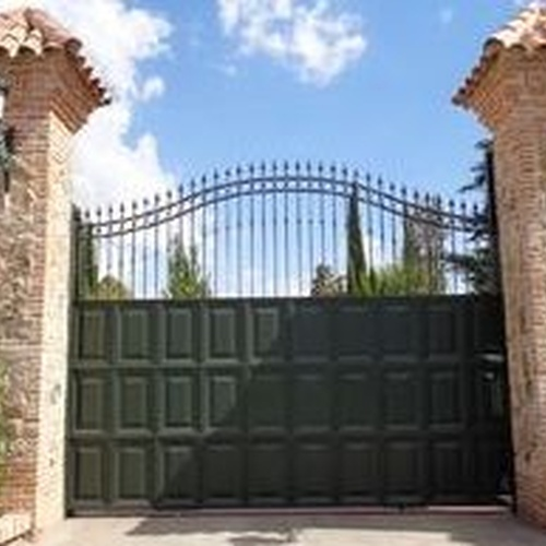 Puerta de cuarterones