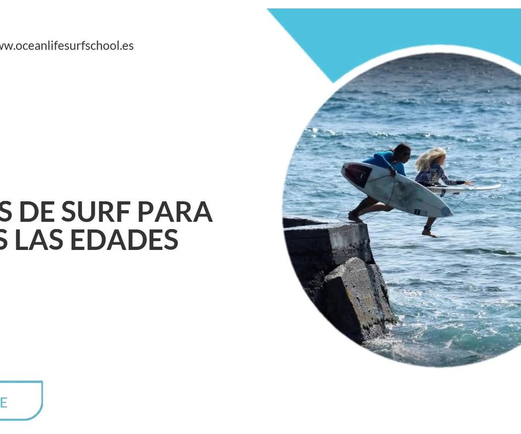 Escuela de surf en Tenerife | Ocean Life Surf School