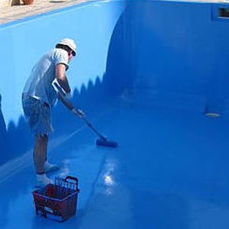 Pinturas de piscinas