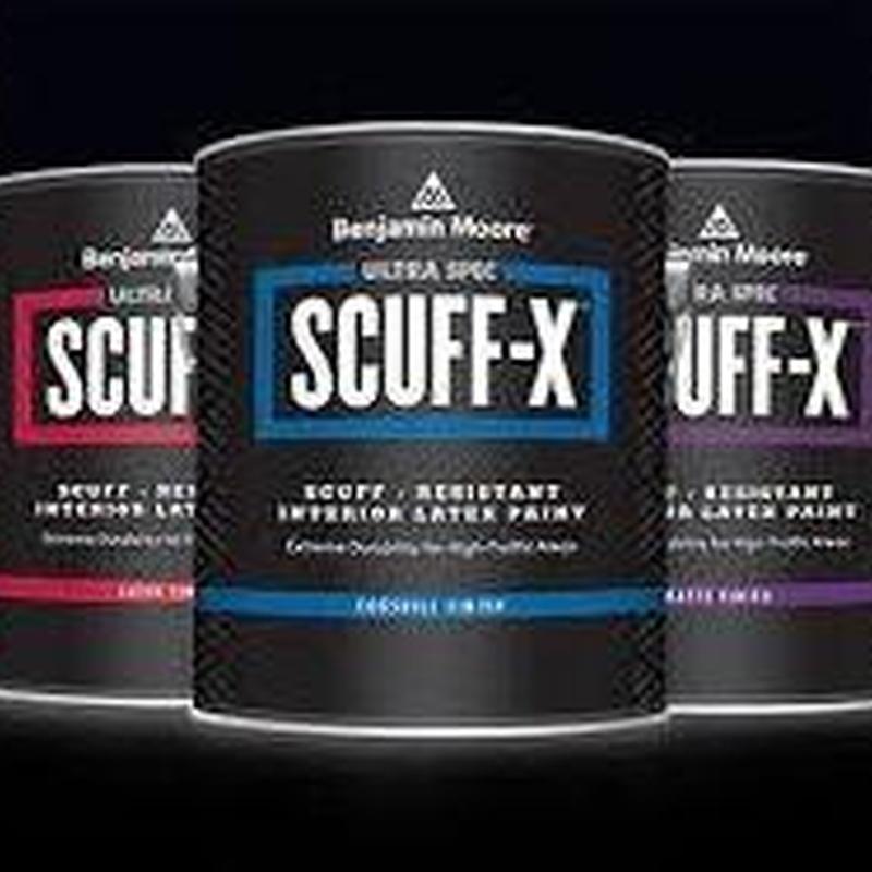Ultra Spec SCUFF-X en almacén de pinturas en pueblo nuevo.