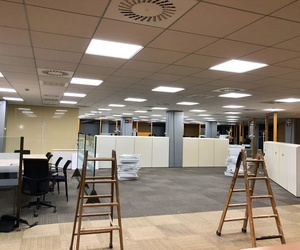 Sustitución del alumbrado en el Edifico Bankia de Pintor Sorolla