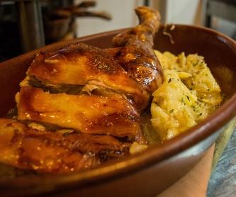 Ensaladas: Carta de Mesón Restaurante Antigua Casa Patata