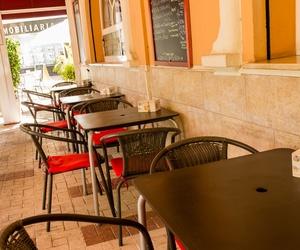 Comedor exterior del Restaurante Imperial
