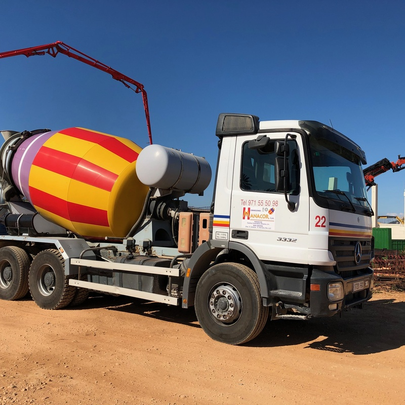 Transporte de hormigón: Servicios de Hormigones Manacor