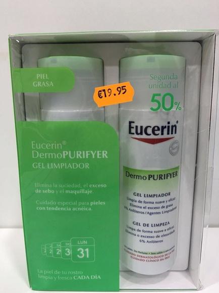 Eucerin Dermo PURIFYER: Productos y Promociones de Farmacia Lucía