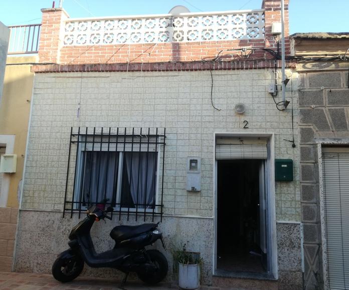 Certificado energetico en vivienda unifamiliar adosado, Barrio de la Concepción, Cartagena