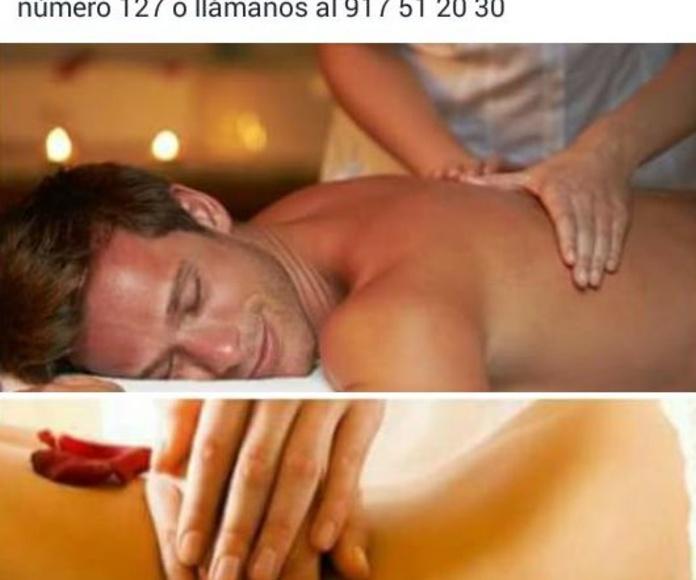 Masajes relajantes: Tratamientos de Fisioterapia Paradise Center
