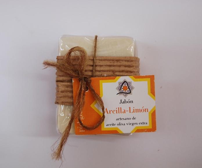 Jabón artesano de arcilla y limón: Productos de Arahí