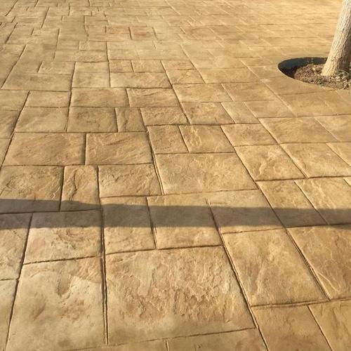 Pavimento impreso Sabadell | Pavimentos Ismael