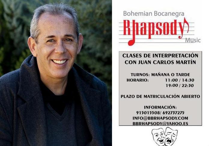 CLASES DE INTERPRETACIÓN CON JUAN CARLOS MARTÍN