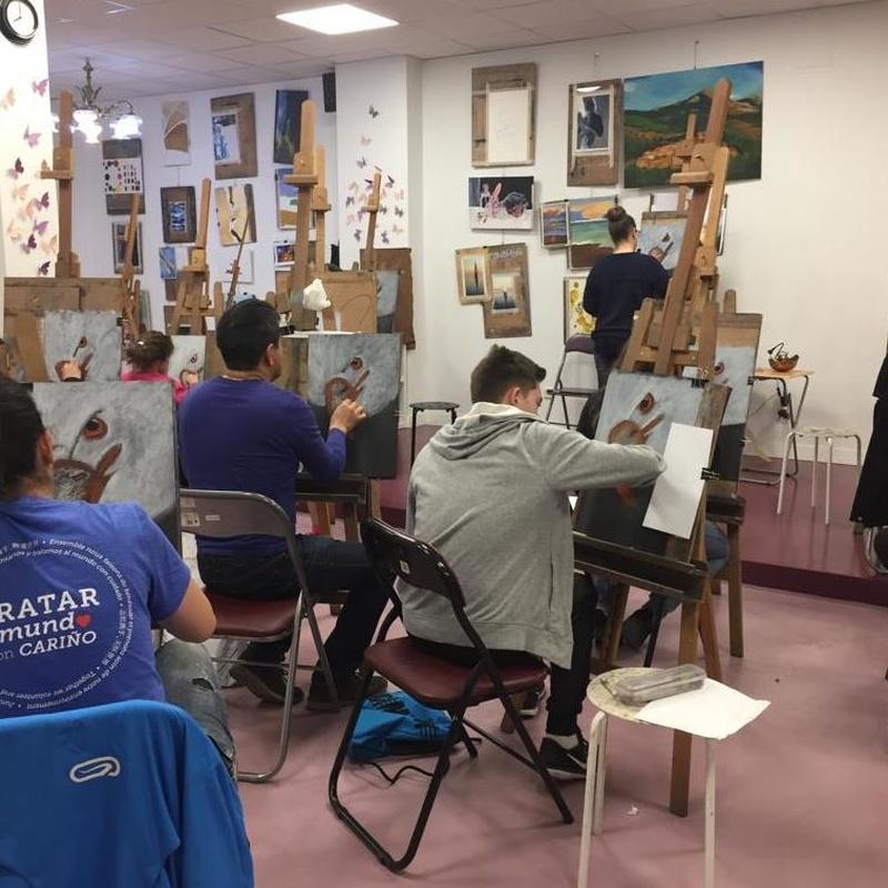 Clases de dibujo: Servicios   de Inicios Academia de Dibujo