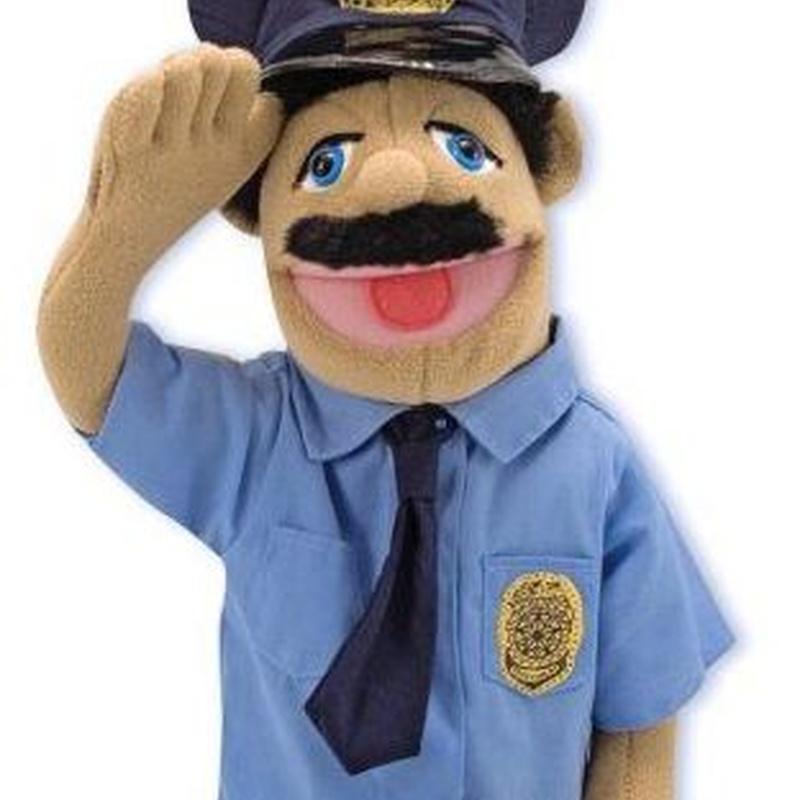Marionetas Melissa&DOUG POLICIA